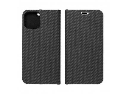 Pouzdro Forcell Luna Carbon SAMSUNG Galaxy Note 20 černé