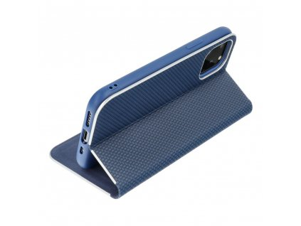 Pouzdro Forcell Luna Carbon SAMSUNG Galaxy Note 20 Plus modré