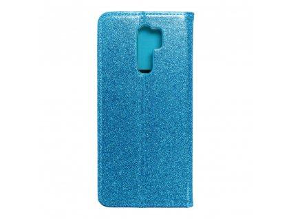 Pouzdro Forcell SHINING Book Xiaomi Redmi 9 modré