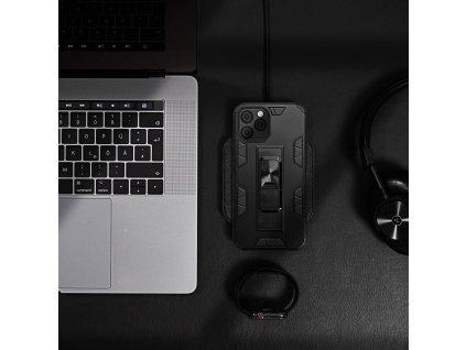Pouzdro Forcell DEFENDER APPLE IPHONE 12 / 12 PRO černé