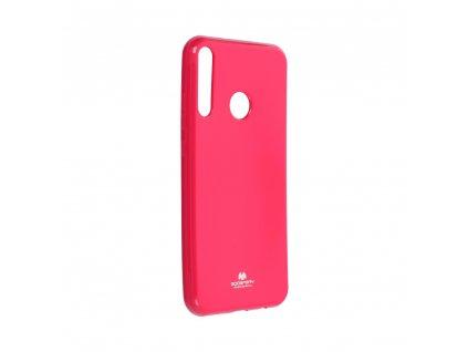 Pouzdro Goospery Mercury Jelly Huawei P40 Lite E růžové