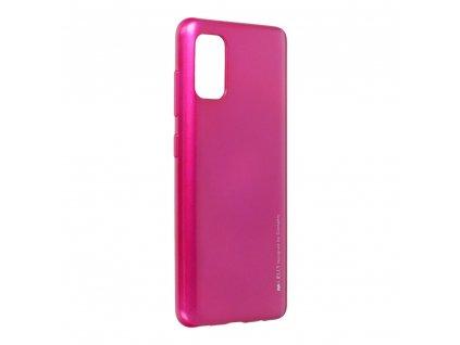 Pouzdro i-Jelly MERCURY/GOOSPERY Samsung Galaxy A41 růžové