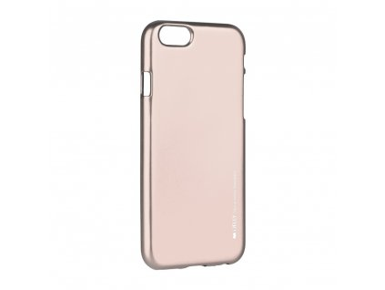 Pouzdro i-Jelly MERCURY/GOOSPERY Apple Iphone 6/6S Plus zlato růžové