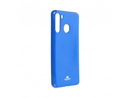 Pouzdro Goospery Mercury Jelly Samsung Galaxy A21 modré