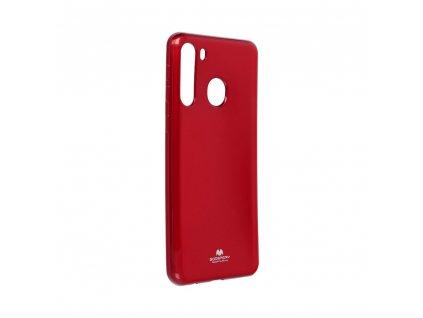 Pouzdro Goospery Mercury Jelly Samsung Galaxy A21 červené