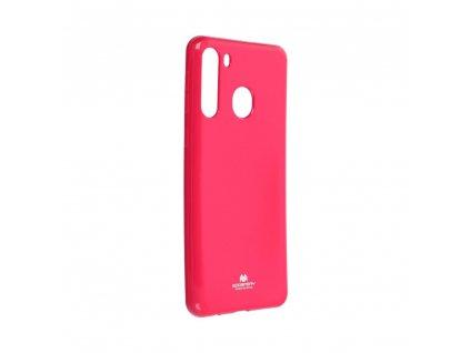 Pouzdro Goospery Mercury Jelly Samsung Galaxy A21 růžové