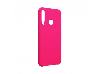 Pouzdro Forcell Soft-Touch SILICONE HUAWEI P40 Lite E růžové