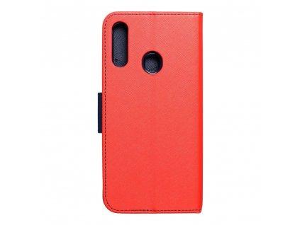 Pouzdro Fancy Book SAMSUNG Galaxy A20s červené/navy blue