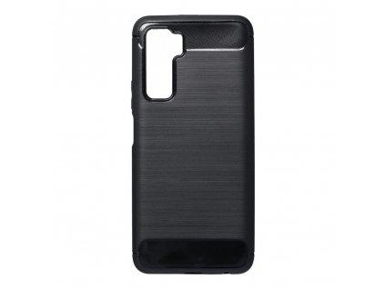 Pouzdro Forcell Carbon HUAWEI P40 Lite 5G černé