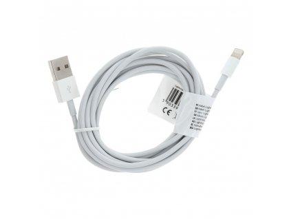 Kabel USB pro iPhone Lightning 8-pin 3 metry bílý C603