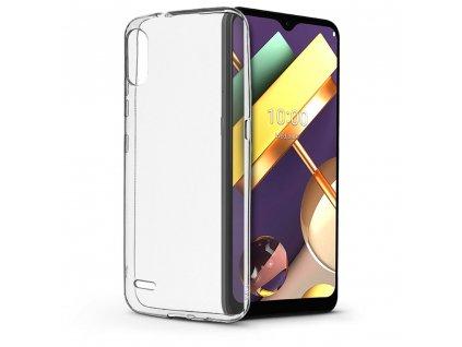 Pouzdro Back Case Ultra Slim 0,5mm LG K22 transparentní