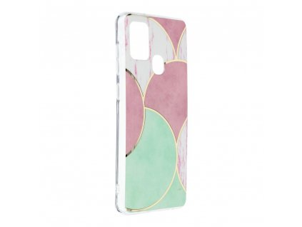 Pouzdro Forcell MARBLE COSMO SAMSUNG GALAXY A21S vzor 05