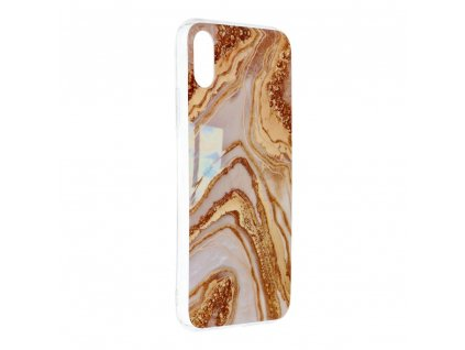 Pouzdro Forcell MARBLE COSMO APPLE IPHONE X / XS vzor 09