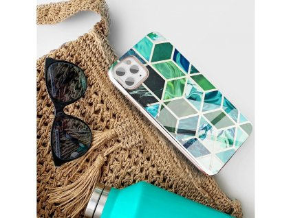 Pouzdro Forcell MARBLE COSMO APPLE IPHONE 12 MINI vzor 08