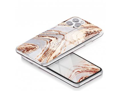 Pouzdro Forcell MARBLE COSMO APPLE IPHONE 12 PRO MAX vzor 09
