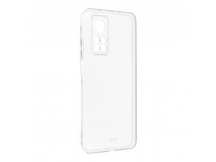 Pouzdro Roar Transparent Tpu Case Xiaomi Mi 10T 5G / Mi 10T Pro 5G transparentní