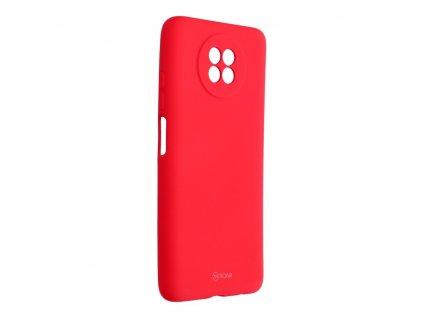 Pouzdro Roar Colorful Jelly Case Xiaomi Redmi Note 9 5G růžové