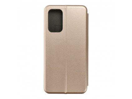 Pouzdro Forcell Book Elegance Samsung Galaxy A52 zlaté