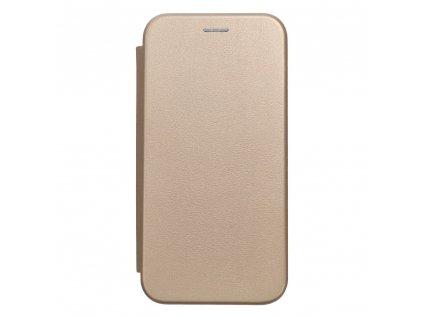 Pouzdro Forcell Book Elegance Xiaomi Redmi 9T zlaté