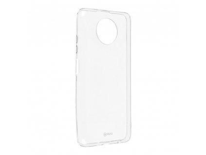 Pouzdro Roar Transparent Tpu Case Xiaomi Redmi Note 9T transparentní