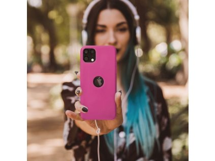 Pouzdro Forcell Soft-Touch SILICONE SAMSUNG Galaxy A32 5G růžové