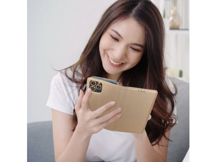 Pouzdro Forcell Smart Case REALME 7 5G zlaté
