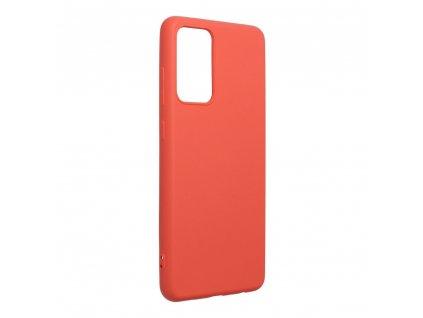 Pouzdro Forcell SILICONE LITE SAMSUNG Galaxy A72 růžové