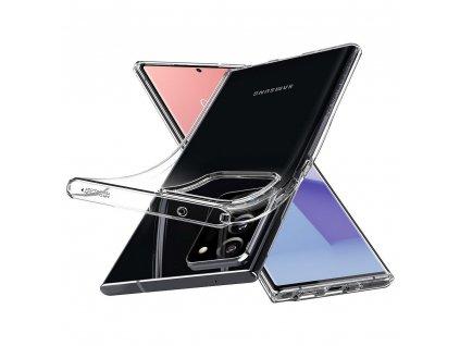 Pouzdro SPIGEN Liquid Crystal Samsung Galaxy NOTE 20 ULTRA transparent