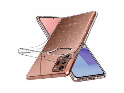Pouzdro SPIGEN Liquid Crystal Samsung Galaxy NOTE 20 glitter crystal
