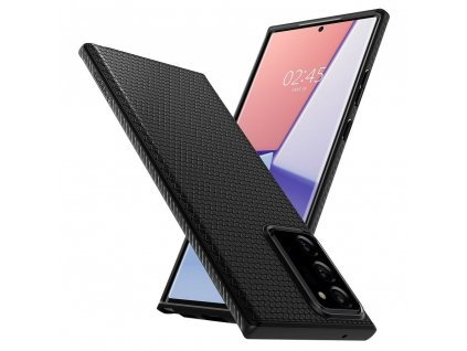 Pouzdro SPIGEN Liquid Air Samsung Galaxy NOTE 20 ULTRA matné černé