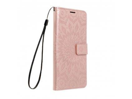 Pouzdro Forcell MEZZO Book Apple IPHONE 12 / 12 PRO mandala zlato růžové