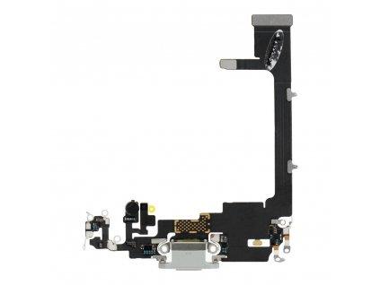 Flex páska s nabíjecím konektorem pro Apple Iphone 11 PRO bílá