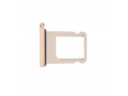 Držák / zásuvka karty SIM EQ Apple Iphone 8 PLUS zlato růžová