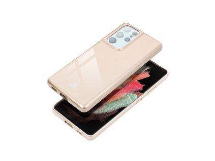 Pouzdro Goospery Mercury Jelly Samsung Galaxy NOTE 10 zlaté