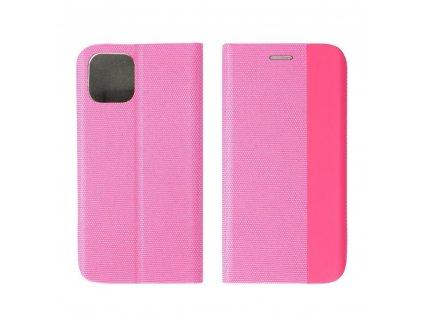 Pouzdro Forcell Sensitive Book SAMSUNG GALAXY A22 LTE ( 4G ) růžové