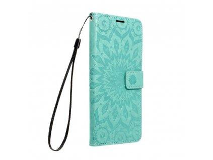 Pouzdro Forcell MEZZO Book Apple Iphone 13 mandala zelené