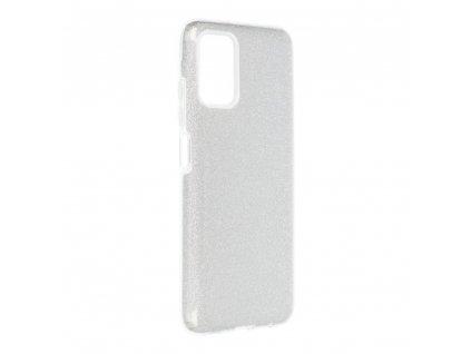 Pouzdro Forcell SHINING SAMSUNG Galaxy A03S stříbrné
