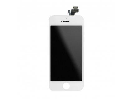 iPhone 5 LCD Displej + Dotyková deska, sklo - bílé, OEM