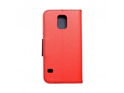Fancy pouzdro Book - Samsung G900F Galaxy S5 - modro/červené