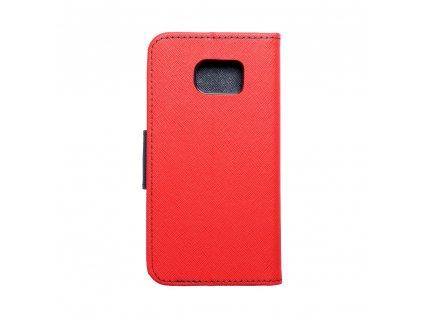 Fancy pouzdro Book - Samsung G925F Galaxy S6 Edge - modro/červené