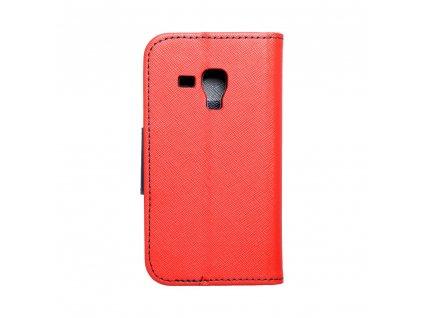 Fancy pouzdro Book - Samsung S7560/S7580/S7562 Galaxy Trend / Trend Plus / S Duos - modro/červené