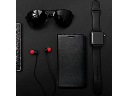 Pouzdro Magnet Flip Wallet Book Apple iPhone 6/6S - černé