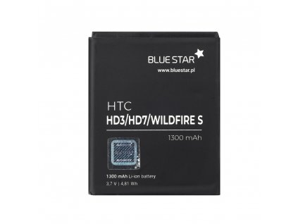 Baterie Blue Star HTC HD3, HD7, Wildfire S, 1300 mAh