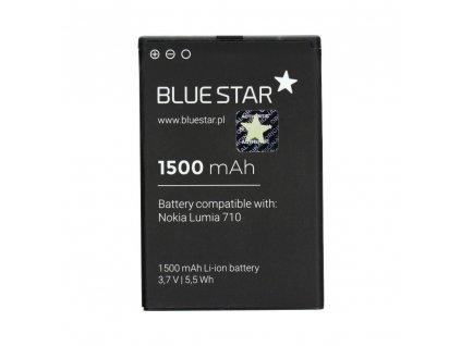 Baterie Blue Star Nokia 710 Lumia/610 Lumia/603 (náhrada za BP-3L) 1500mAh