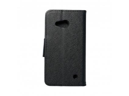 Fancy pouzdro Book - Microsoft Lumia 550 - černé
