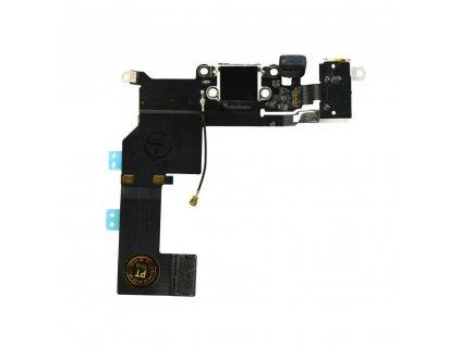 Flex kabel iPhone 5S + konektor nabíjení - bílá