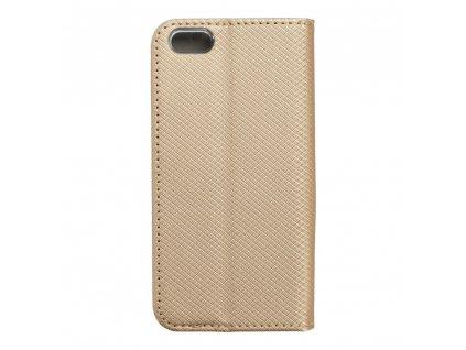Pouzdro Smart Case Book Apple iPhone 5/5S/5SE - zlaté