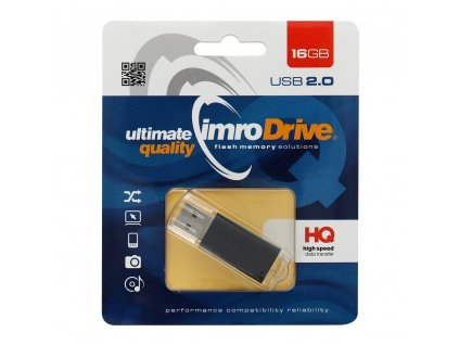 USB Flash disk Pendrive IMRO 16GB (Blister) Black