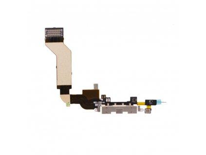 iPhone 4S flex kabel + AV Audio konektor - bílá