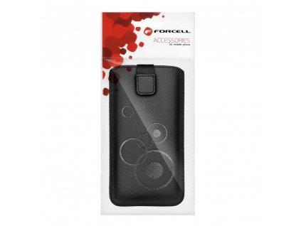 Forcell Deko Case Samsung i9000 Galaxy S/i8190 S3 Mini/S7560 Trend/S7580 Trend Plus černé